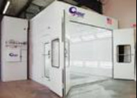 AC Auto body's state of the art spray booth