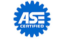 AC Auto body & mechanical service is ASE certified